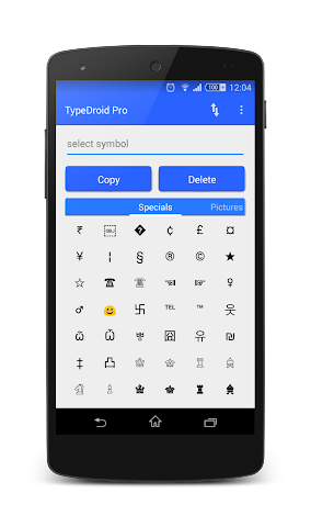 android TypeDroid Pro with Keyboard Screenshot 6