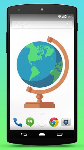 Globe Map Live Wallpaper