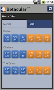 Betacular Betfair Viewer - screenshot thumbnail