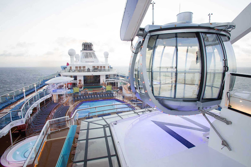 Step into the North Star capsule on Quantum of the Seas.