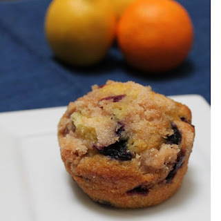 LEMON ORANGE BLUEBERRY MUFFINS