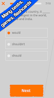 Screenshot of Practice English Grammar - Sam