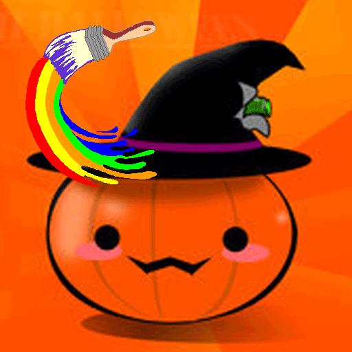 Happy Halloween Coloring Books