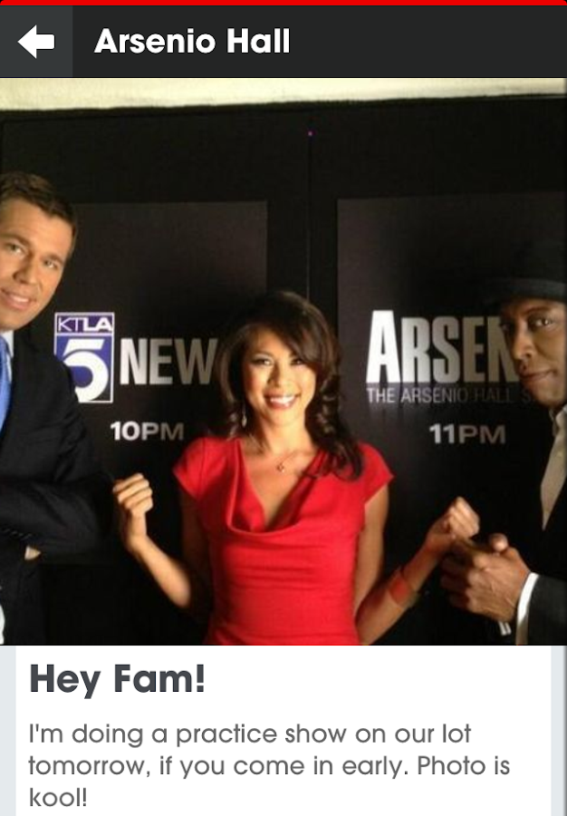 Arsenio Hall UpClose - screenshot