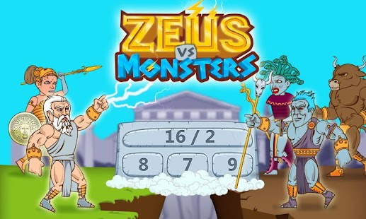 Math Games - Zeus vs. Monsters- screenshot thumbnail
