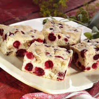 Cranberry Nut Bars.