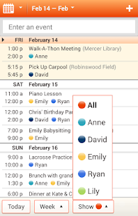Cozi Family Calendar & Lists - screenshot thumbnail
