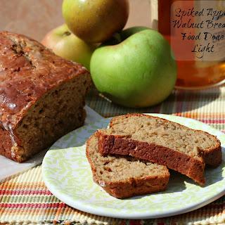 Spiked Apple Walnut Bread