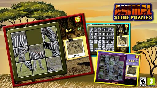 아이 동물 슬라이드 퍼즐 15