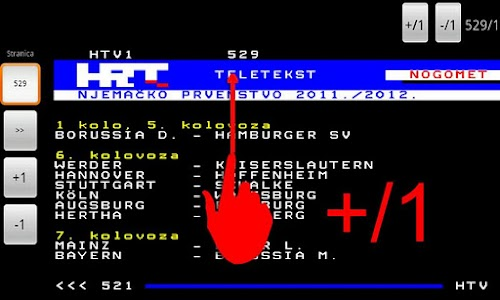 HRT Teletekst screenshot 5