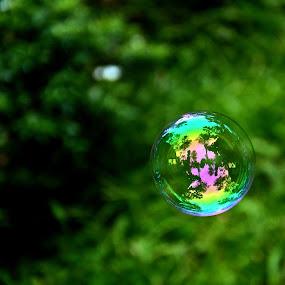 by Subramanya Padubidri - Abstract Water Drops & Splashes