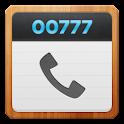 [무료통화3000원]국제전화 00777 원터치 logo