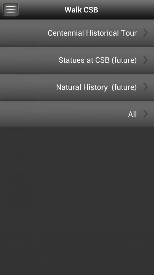 CSB Walking Tours- screenshot