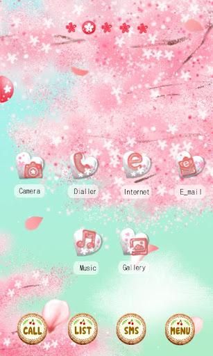 CUKI Theme Cherry Blossom