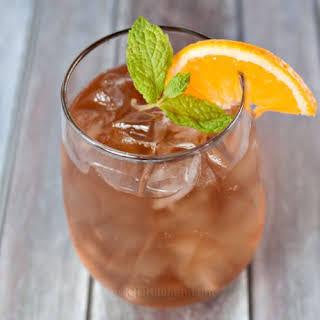 Refreshing Orange Iced Tea.
