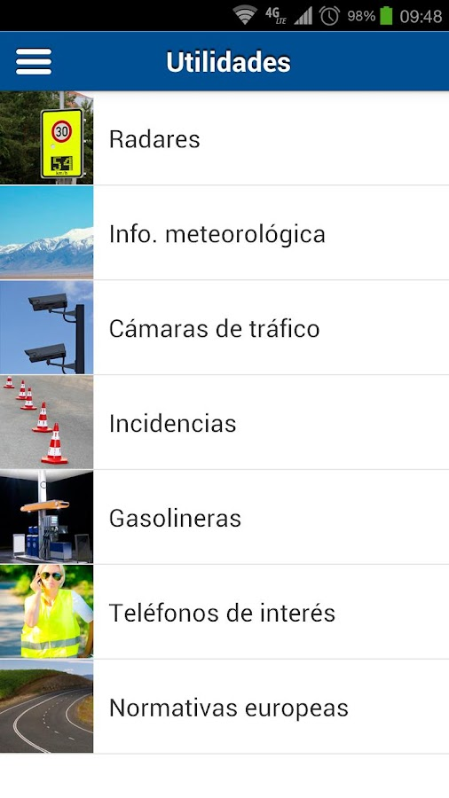 Seguridad Vial RACE - screenshot