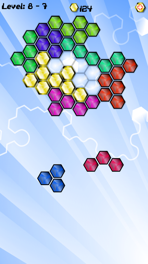 Gold Bloxx - Random Puzzles- screenshot