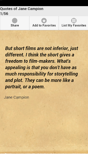 Quotes of Jane Campion