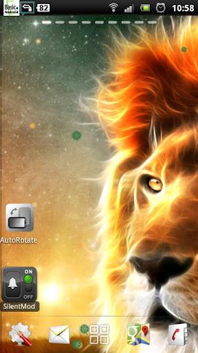 獅子 動態壁紙