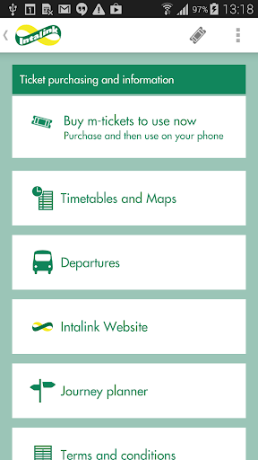 Intalink Herts Bus M-Tickets