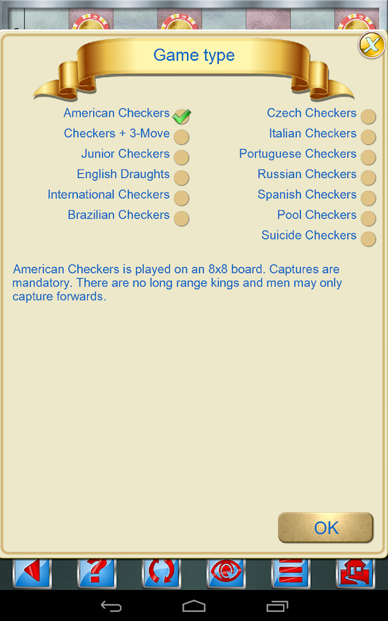 Checkers V+ - screenshot