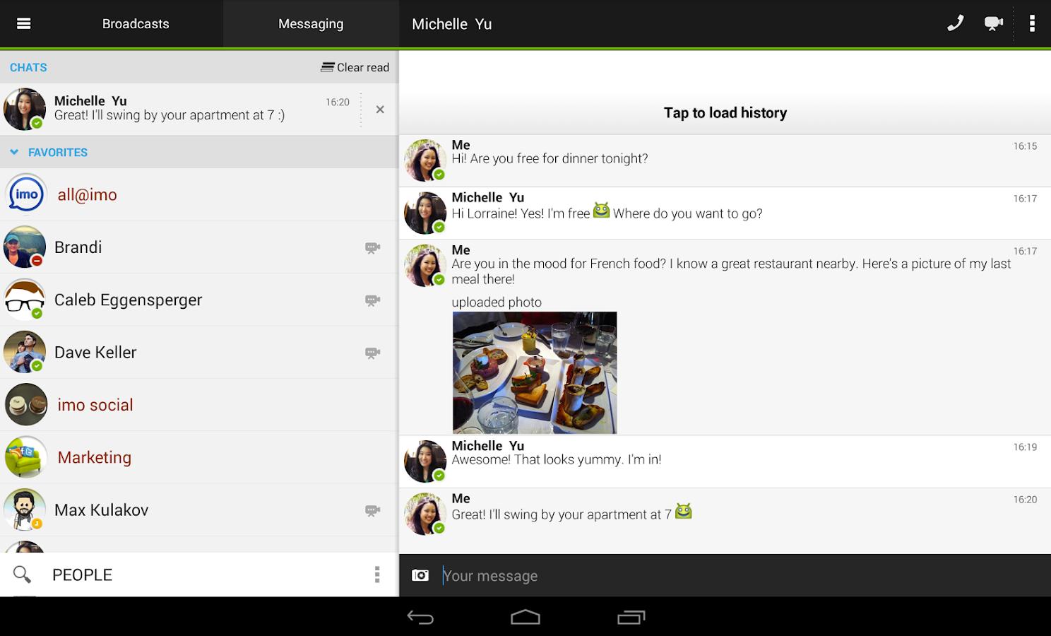 Imo messenger aplikacje na telefon darmowe gry for Programme imo