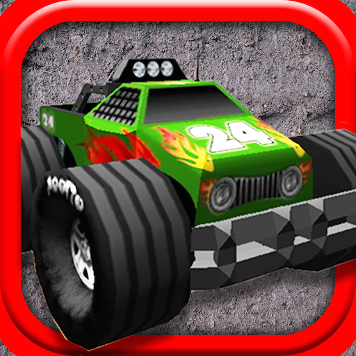 賽車遊戲App|4X4的怪物卡车挑战赛 LOGO-3C達人阿輝的APP