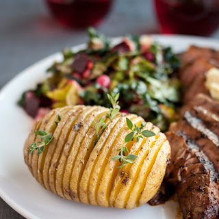 How To Make Hasselback Potatoes.