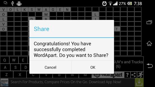 【免費拼字App】WordApart-APP點子