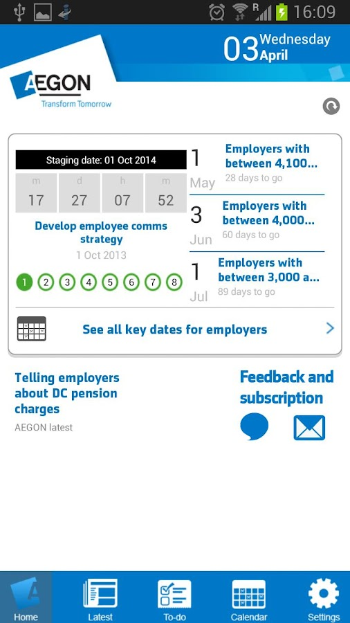 Pensions Reform Planner - screenshot