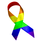 Awareness Ribbon - Rainbow