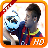 Footballer Neymar HD Wallpaper