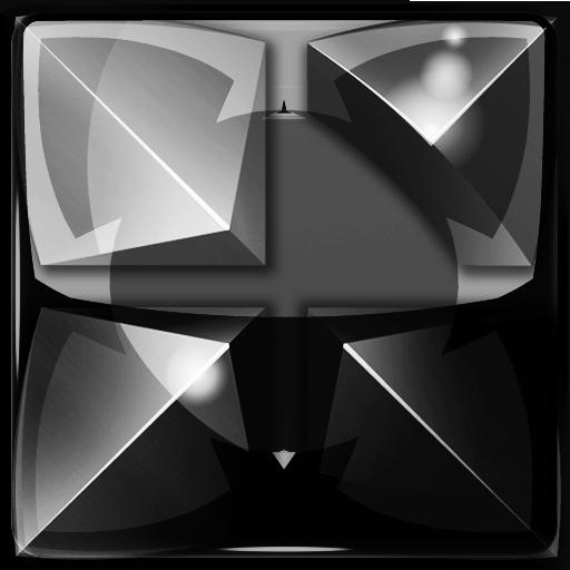 Next Launcher Theme black dra