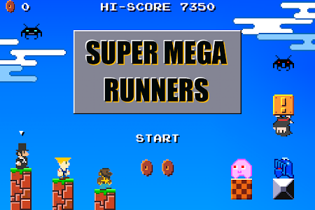 SUPER MEGA RUNNERS 8-Bit Mario 7.1 screenshot 215713