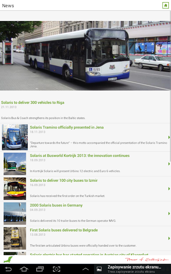 Solaris Bus & Coach- screenshot