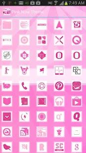 玩個人化App|Pink Now Apex Launcher Theme免費|APP試玩