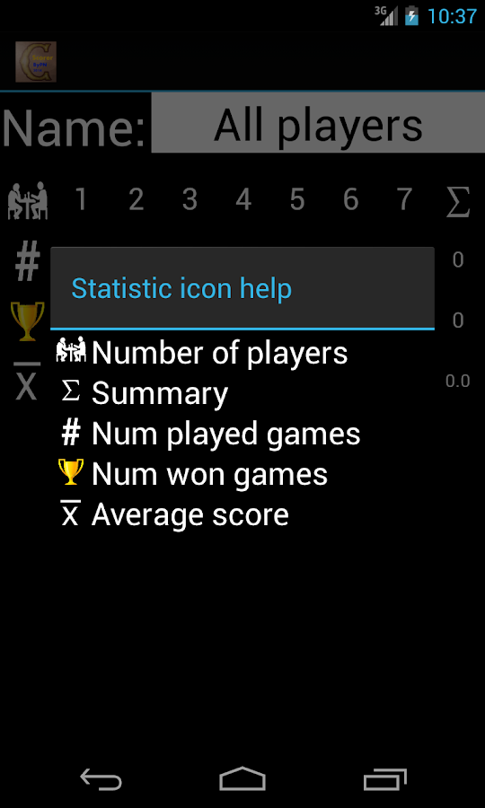 Caverna Scorer By PN Free- screenshot