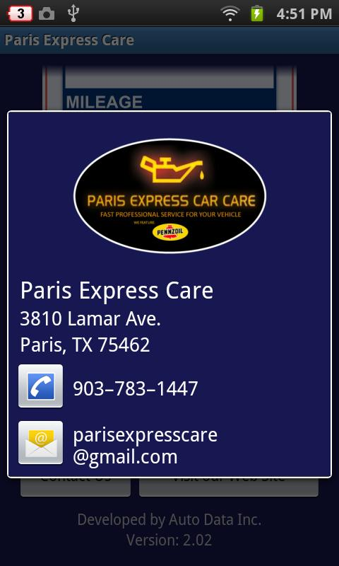 Paris Express Care- screenshot