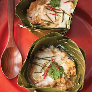 Hor Mok (Steamed Thai Fish Custard)