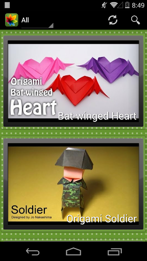 Origami - Free Video Tutorials