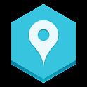 Wheres my car location? icon