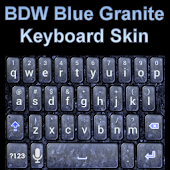 Blue Granite Keyboard Skin