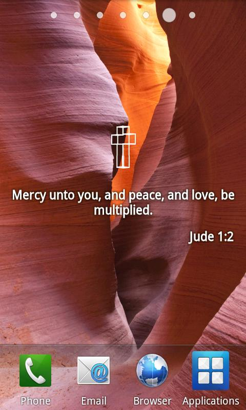 Bible Verses Live Wallpaper - screenshot