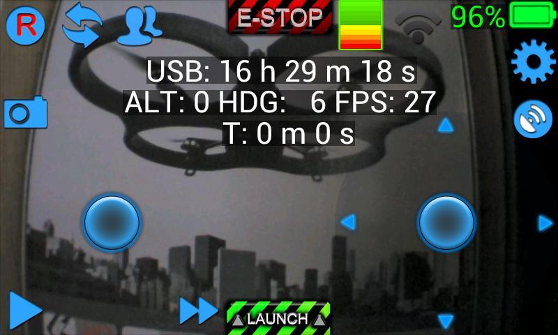 ARDrone Flight - screenshot