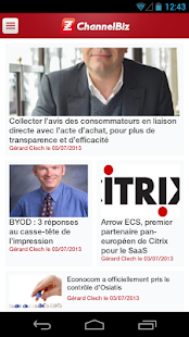 Actualité Channel - ChannelBiz- screenshot thumbnail