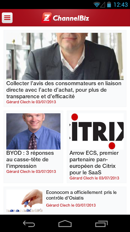 ChannelBiz.fr - screenshot