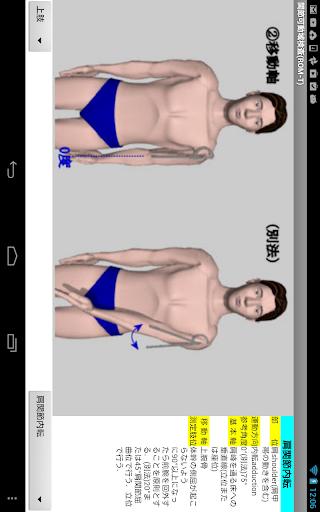 【免費醫療App】関節可動域測定法(ROM-T)角度計付-APP點子