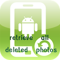 retrieve all deleted photos icon