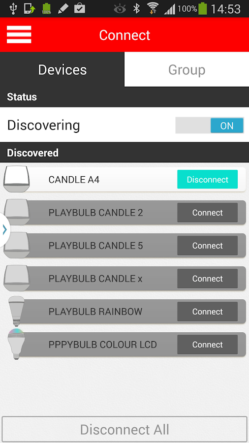 PLAYBULB X- screenshot