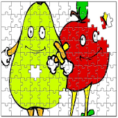 Puzzle Game ( Fruits)